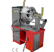 HYDRAULIC RIM PRESS + LATHE